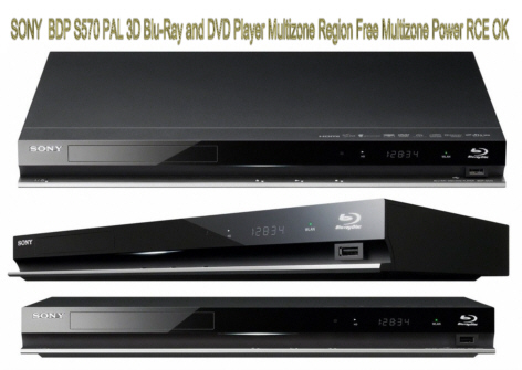 Order Prompt Delivery of the Sony PAL 3D Blu-Ray Region Free Player